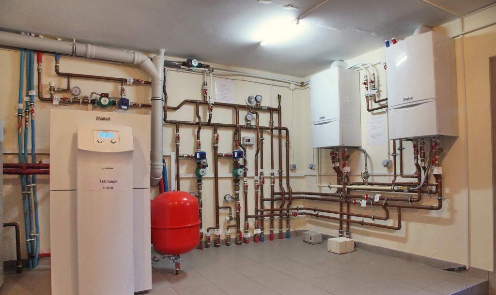 Фото теплового газового котла